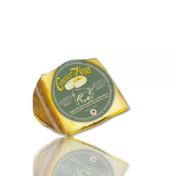 compra queso curado de oveja merina en manteca cremositos zujar