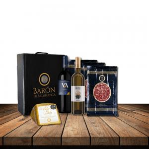 Comprar cesta gourmet ibérica, muestra de jamón de venta en nuestra tienda online